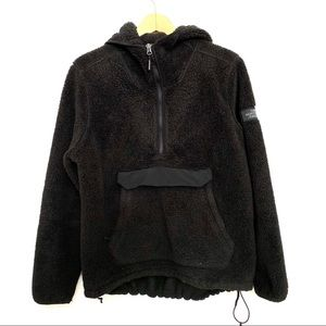 The North Face Campshire Fuzzy Hood Fleece Jacket